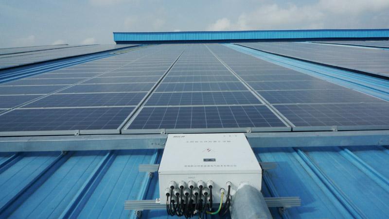 海南圣大木业屋顶3MWbetvlctor32发电项目