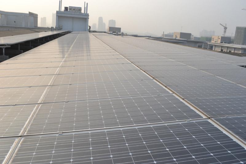 环保科技园3.705MW屋顶并网发电项目